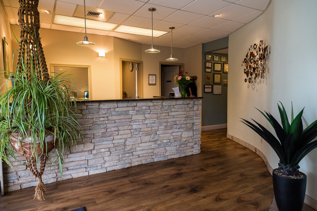 Front desk at Choice Austin Dental